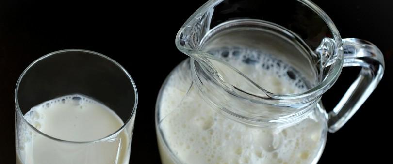 Carafa si pahar cu lapte. Laptele si istoria lui